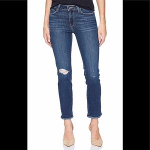 Paige jeans distressed size 26
